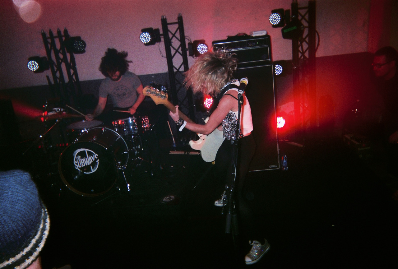 The Subways, private concert in Paris