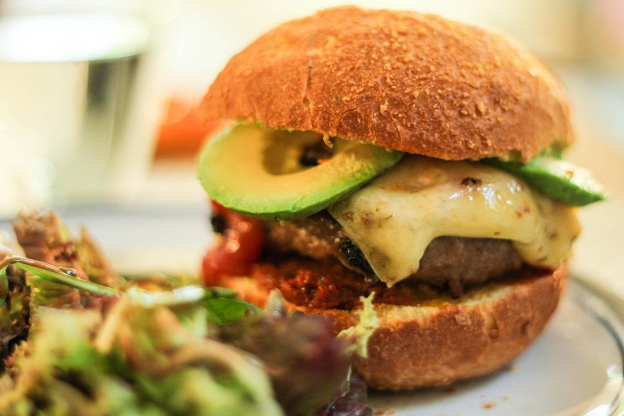 Jordaan Burger (homemade)