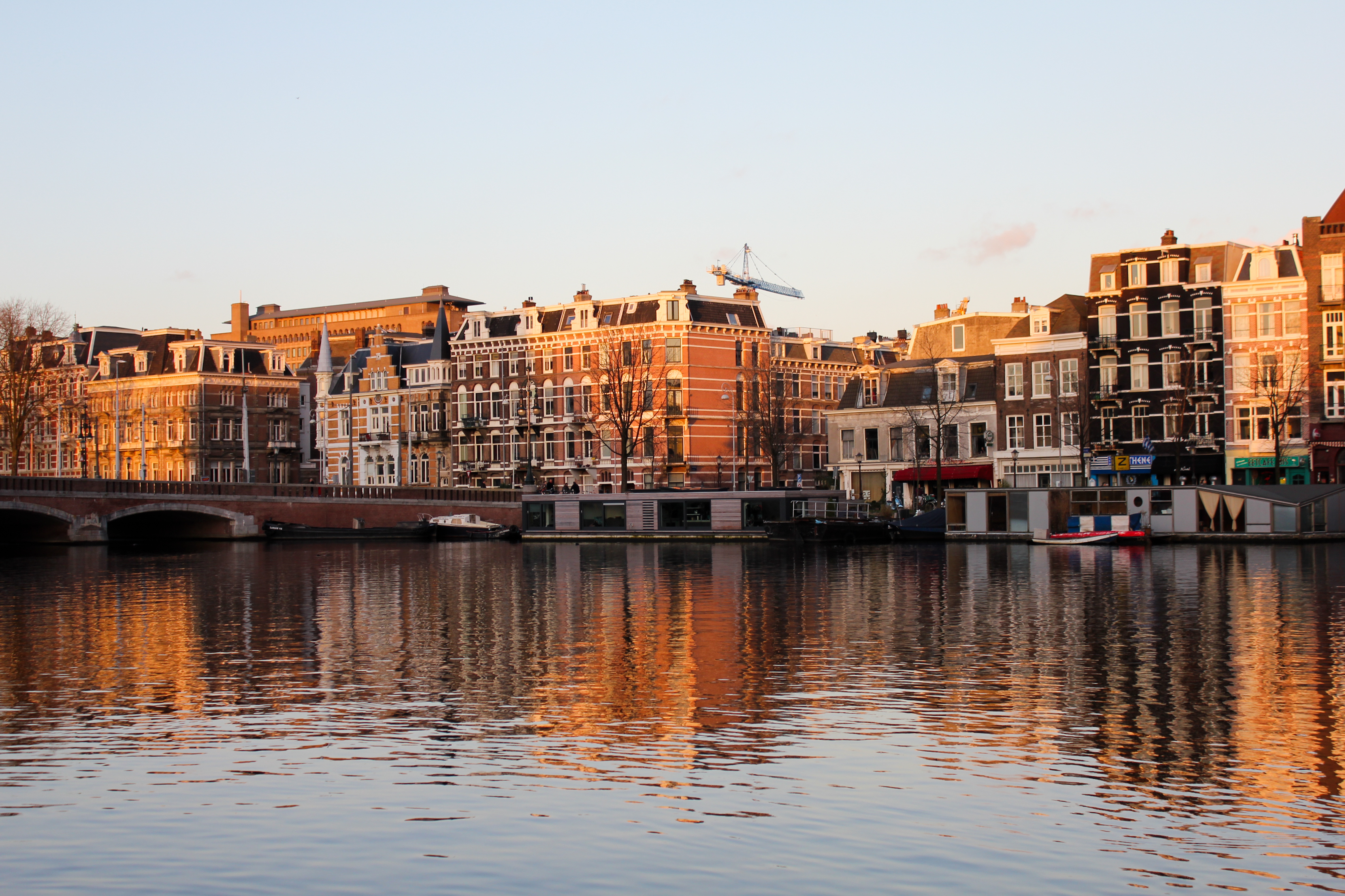 Live from Amsterdam!