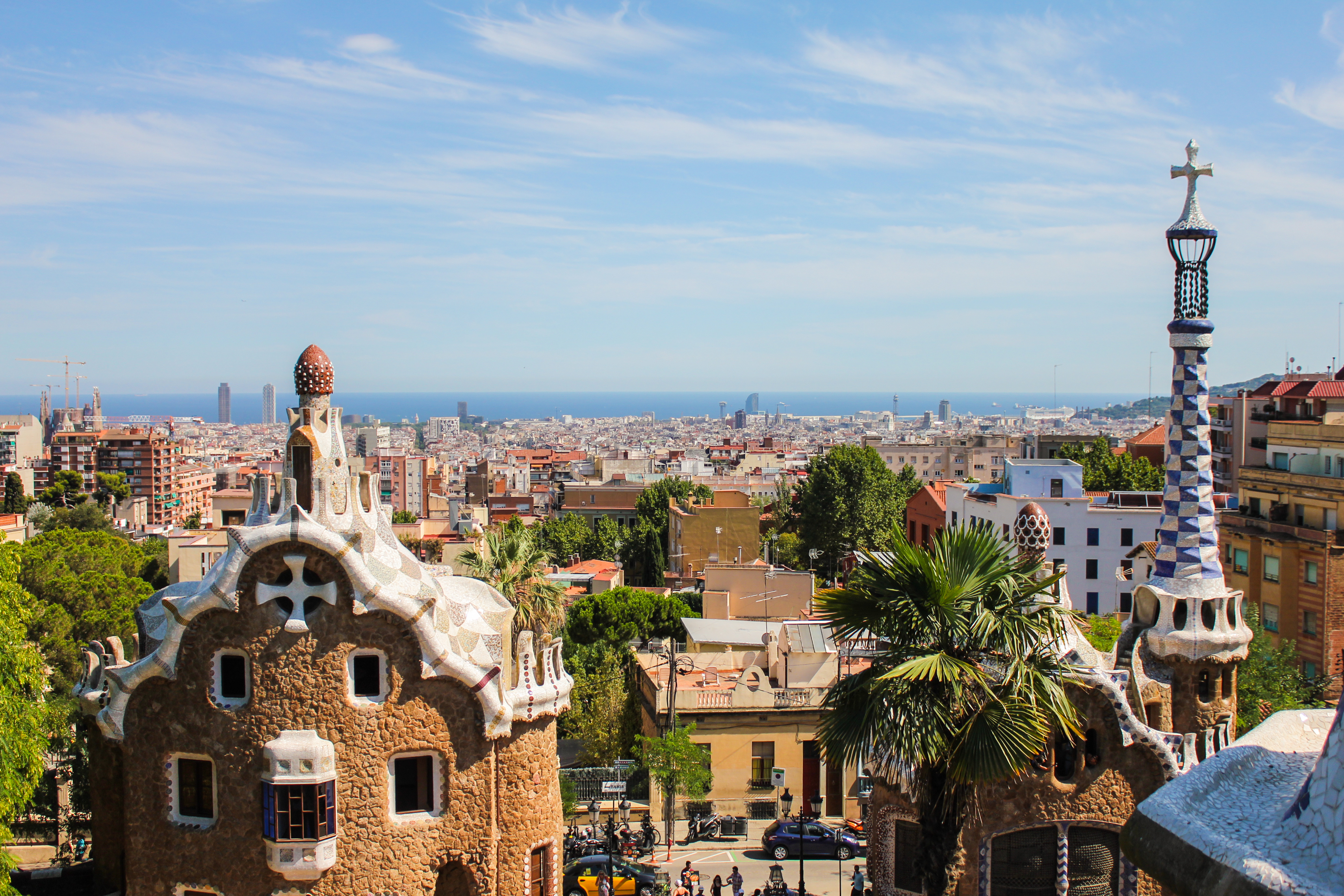 One week in Barcelona, Spain